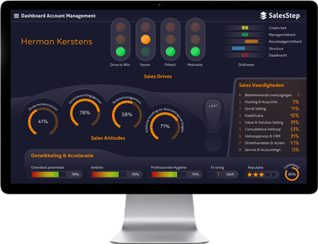 SalesStep Dashboard